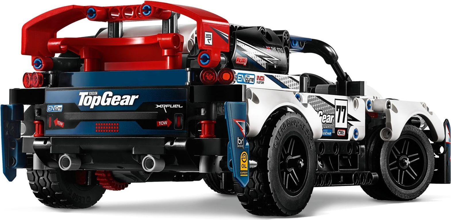 LEGO® Technic App-Controlled Top Gear Rally Car back side