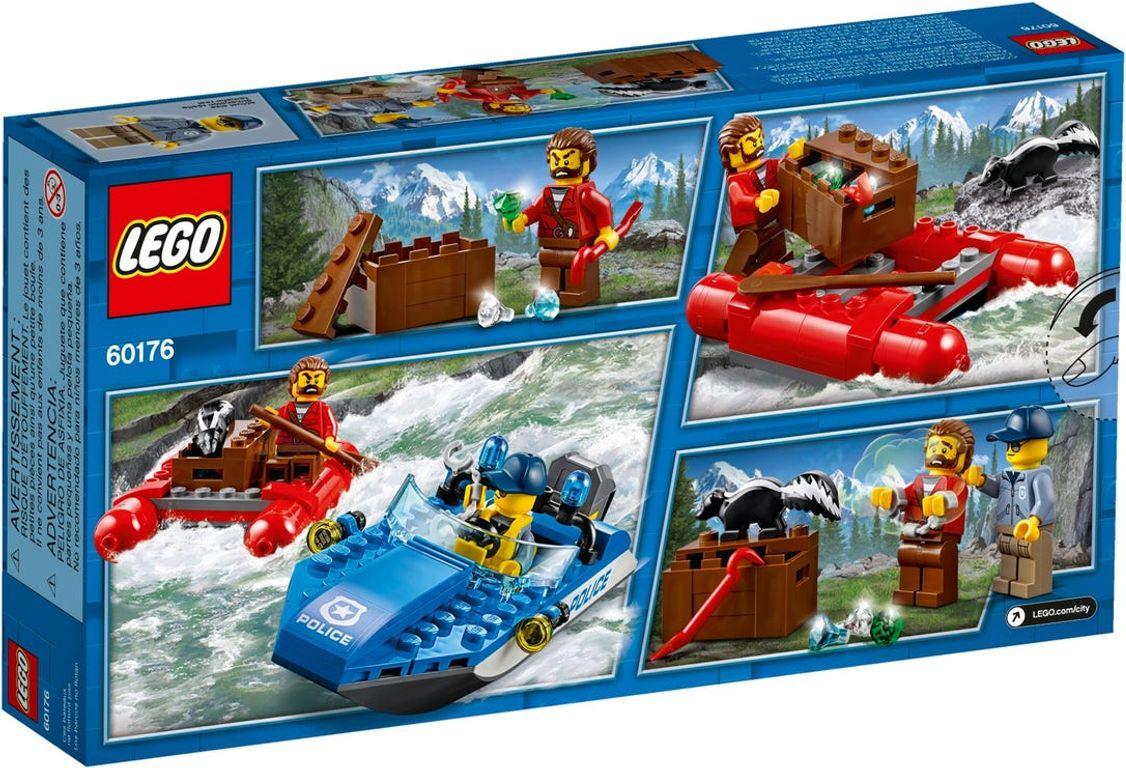 LEGO® City Wild River Escape back of the box