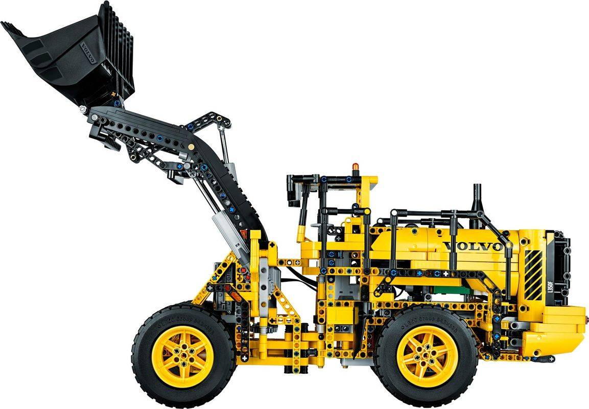 Remote-Controlled VOLVO L350F Wheel Loader components