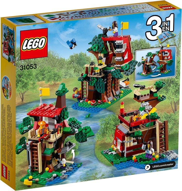 LEGO® Creator Treehouse Adventures back of the box