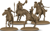 A Song of Ice & Fire: Tabletop Miniatures Game – Bloody Mummer Zorse Riders miniatures