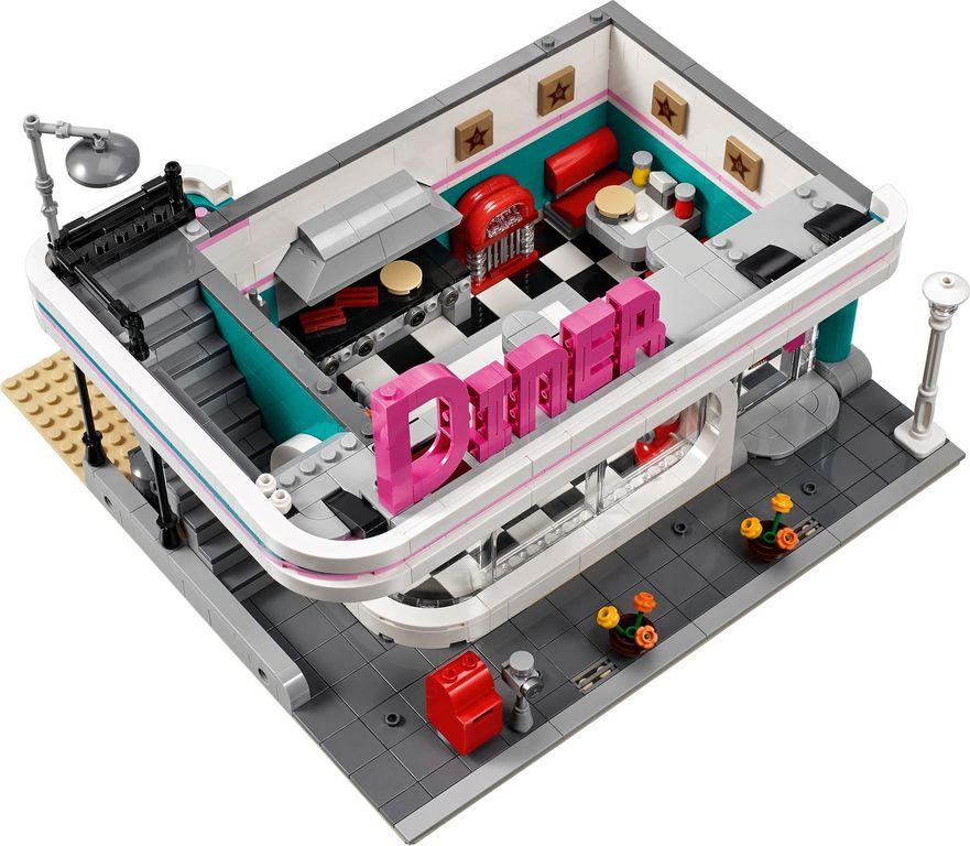 LEGO® Creator Expert Downtown Diner interior