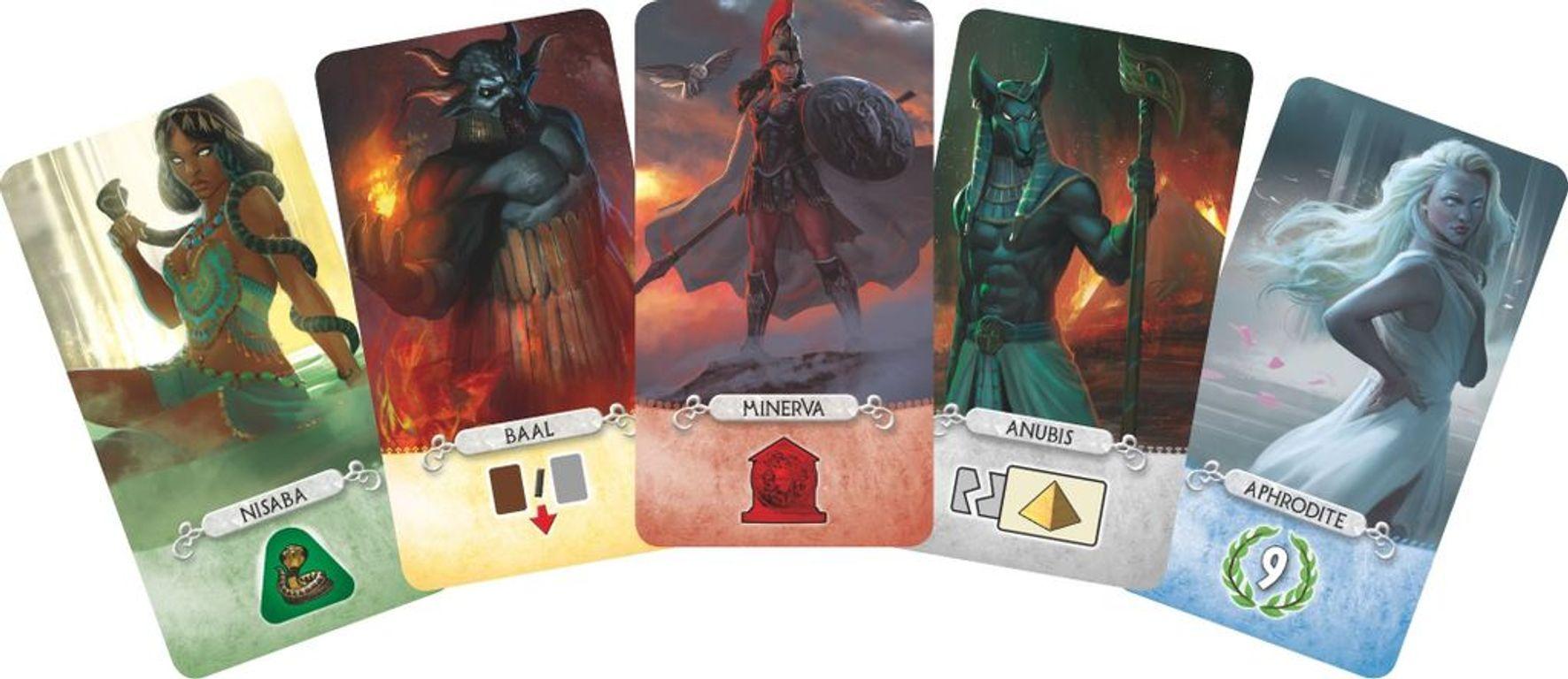 7 Wonders Duel: Pantheon cards