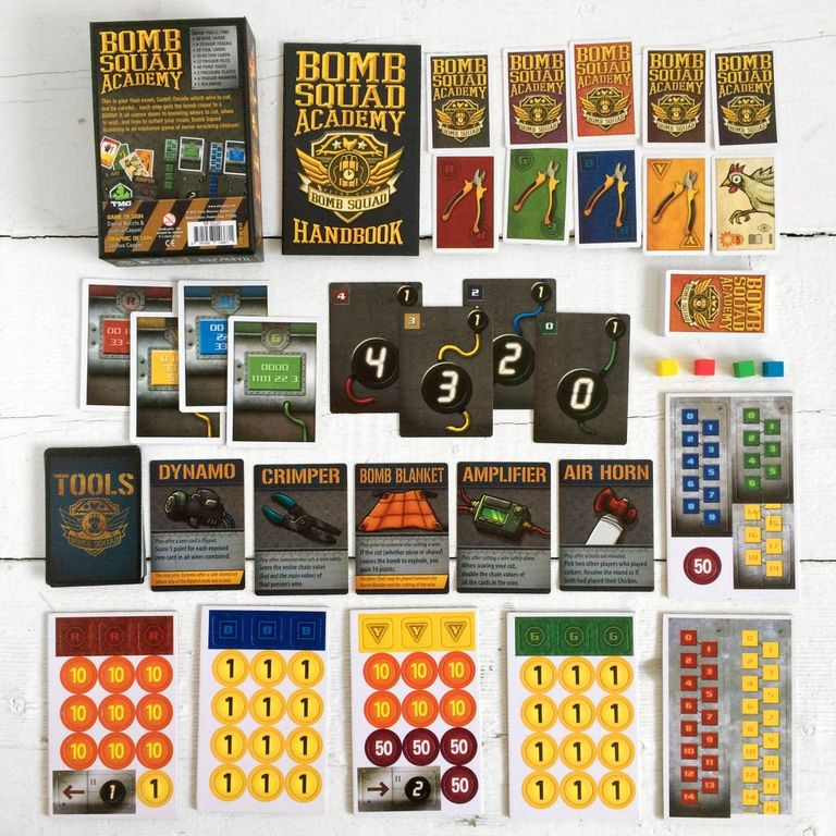 Bomb Squad Academy components
