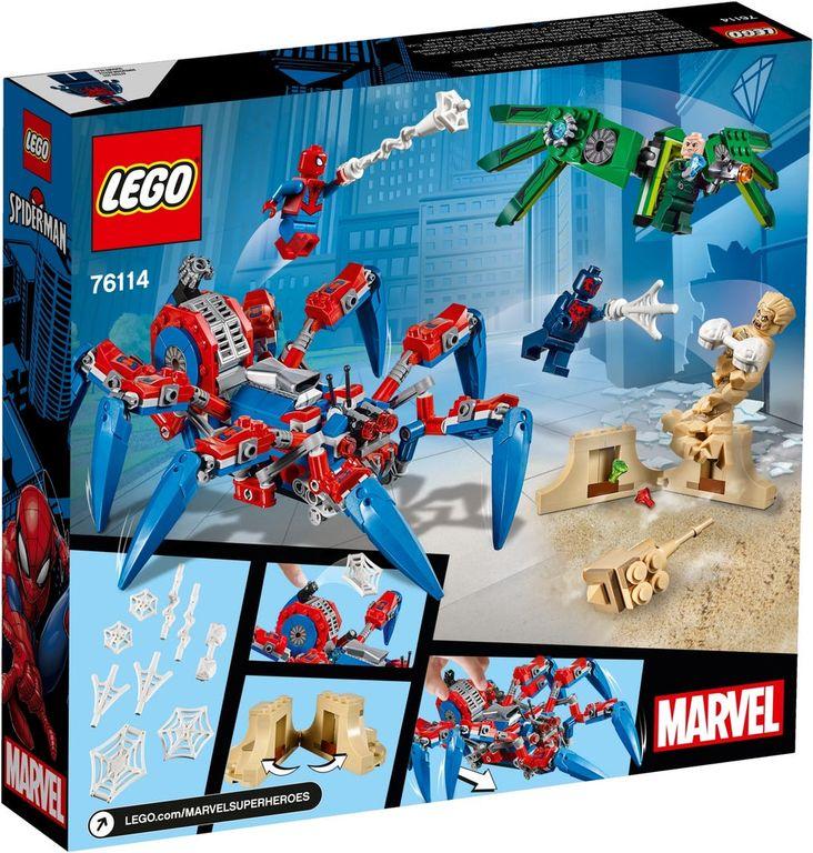 LEGO® Marvel Spider-Man's Spider Crawler back of the box