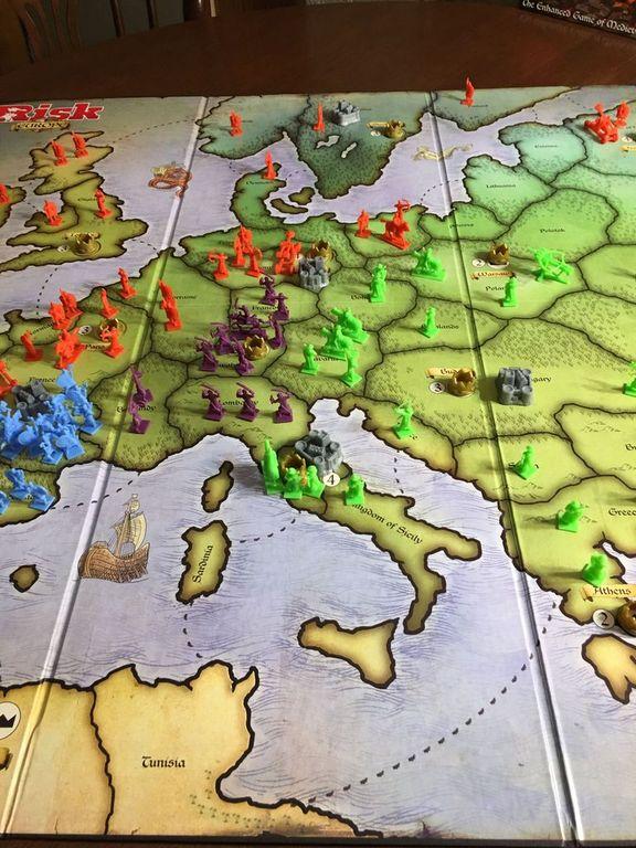 Risk Europe gameplay