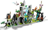 LEGO® Monkie Kid The Legendary Flower Fruit Mountain back side