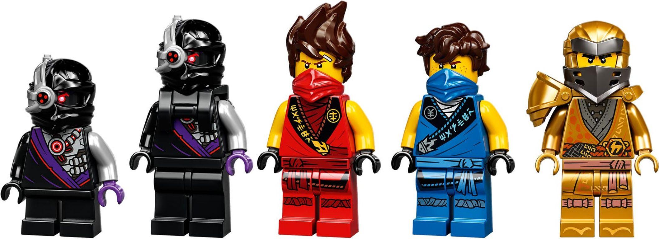 X-1 Ninja Charger minifigures