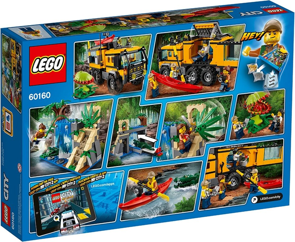 Jungle Mobile Lab back of the box