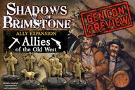 Shadows of Brimstone: Allies of the Old West Ally Expansion