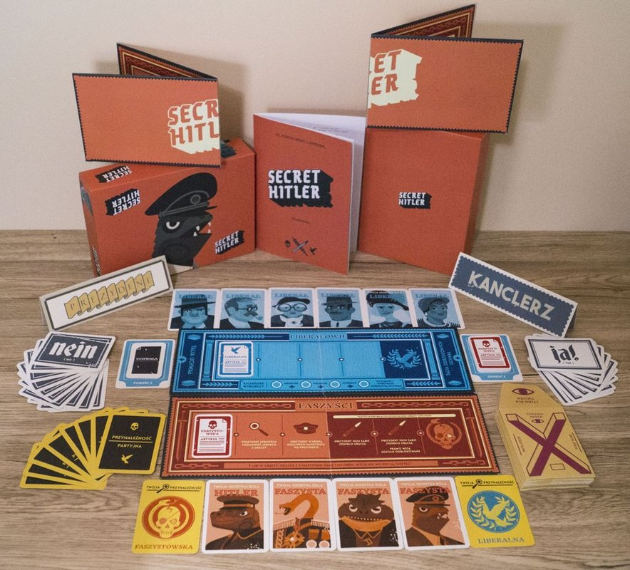 Secret Hitler components