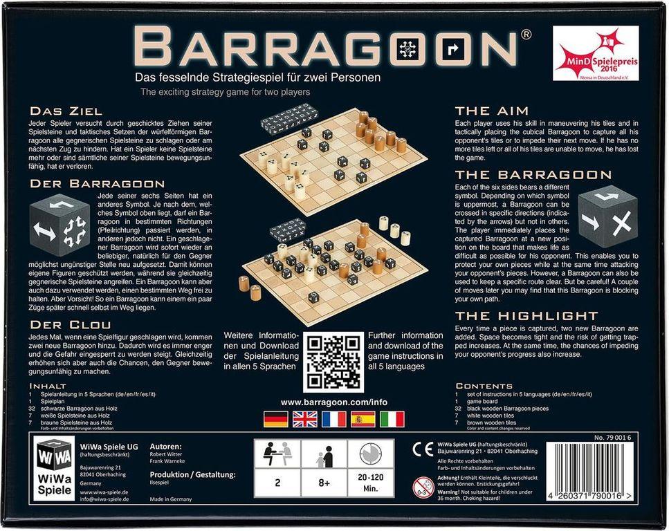 Barragoon back of the box