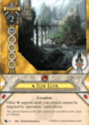 Warhammer: Invasion - Fragments of Power Tor Elyr card