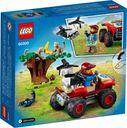 LEGO® City Wildlife Rescue ATV back of the box