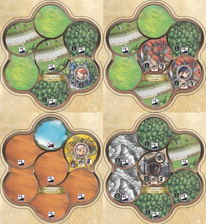Unicornus Knights tiles