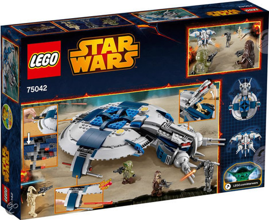 LEGO® Star Wars Droid Gunship back of the box