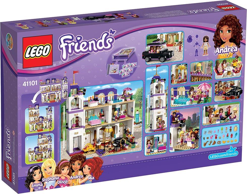 LEGO® Friends Heartlake Grand Hotel back of the box