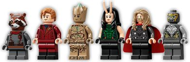 LEGO® Marvel The Guardians' Ship minifigures