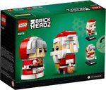 Mr. & Mrs. Claus back of the box