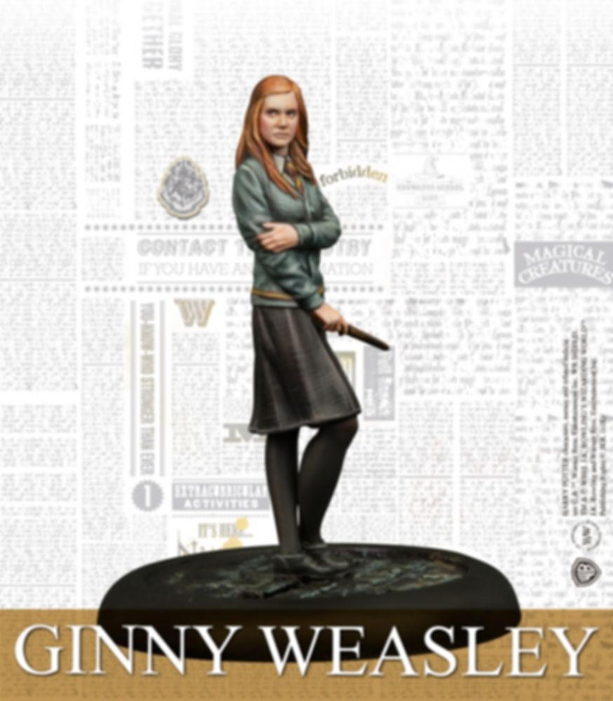 Harry Potter Miniatures Adventure Game: Dumbledore's Army Pack Ginny Weasley miniature