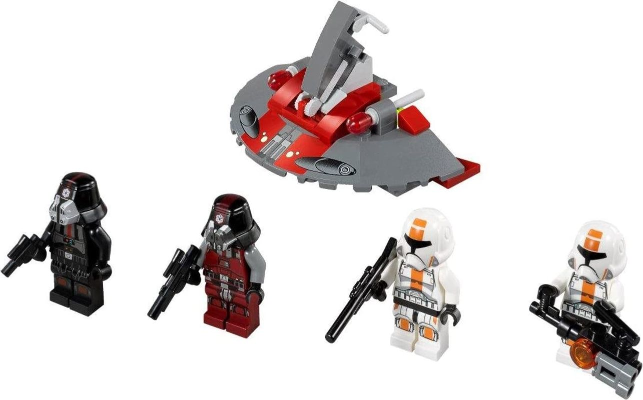Republic Troopers vs. Sith Troopers components
