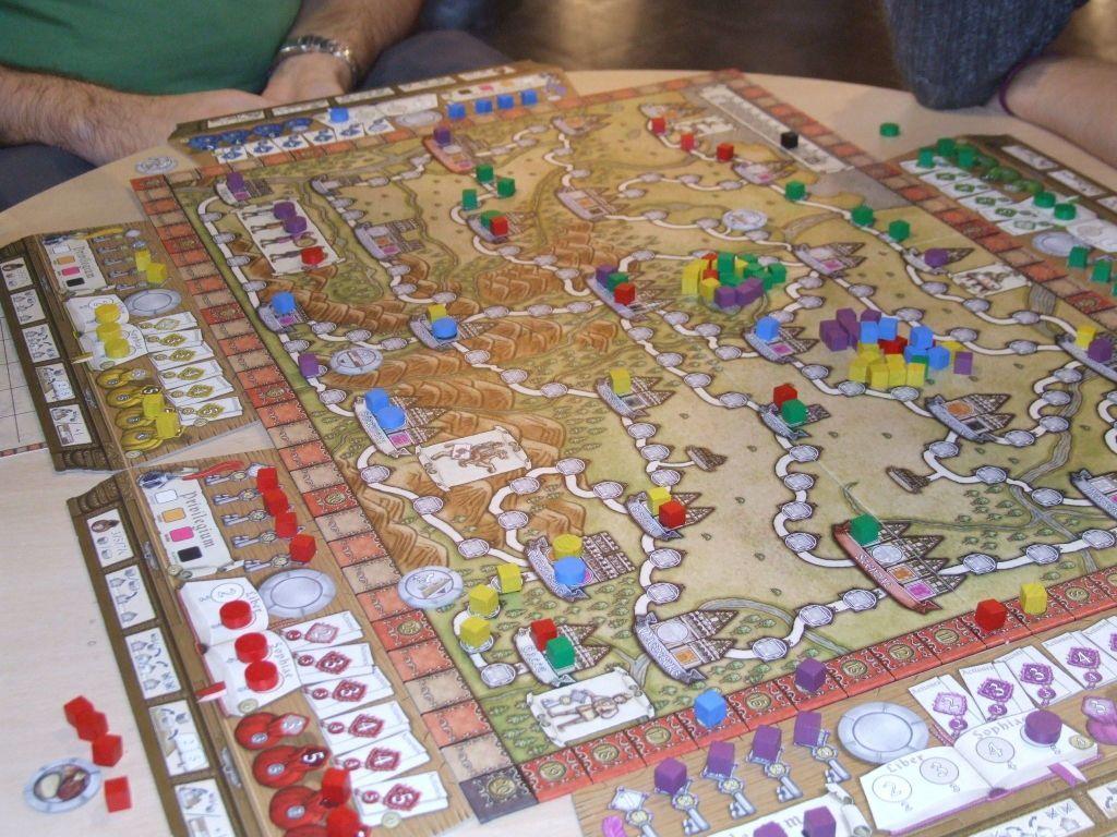 Hansa Teutonica gameplay
