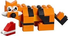 Medium Creative Brick Box animals