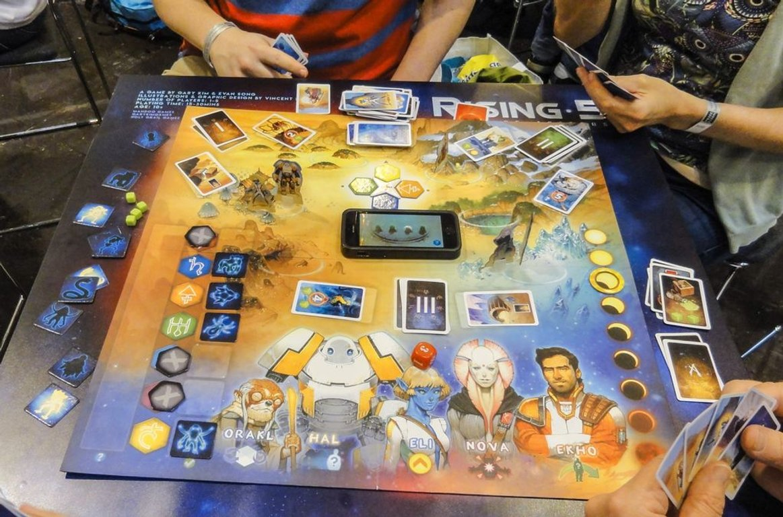 Rising 5: Runes of Asteros gameplay
