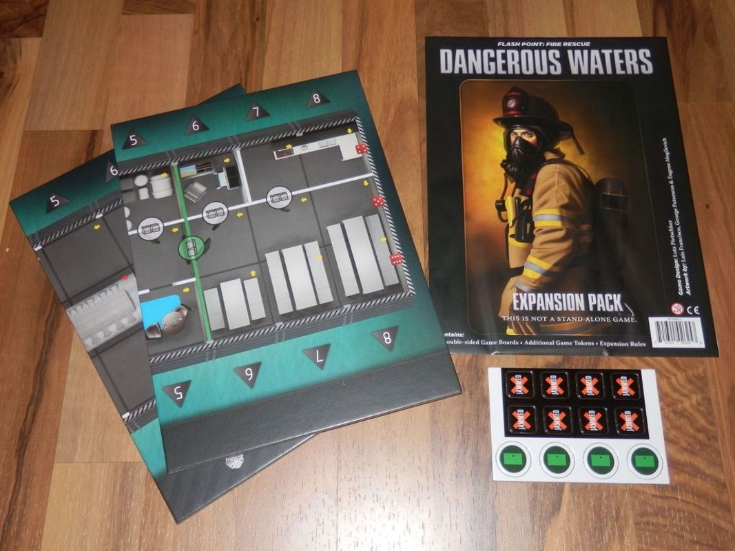 Flash Point: Fire Rescue - Dangerous Waters components