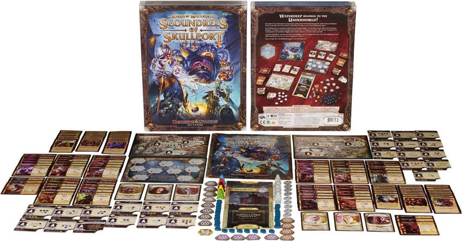 Lords of Waterdeep: Scoundrels of Skullport partes