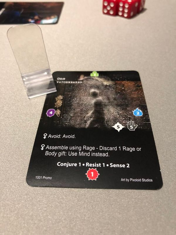 Apocrypha Adventure Card Game components
