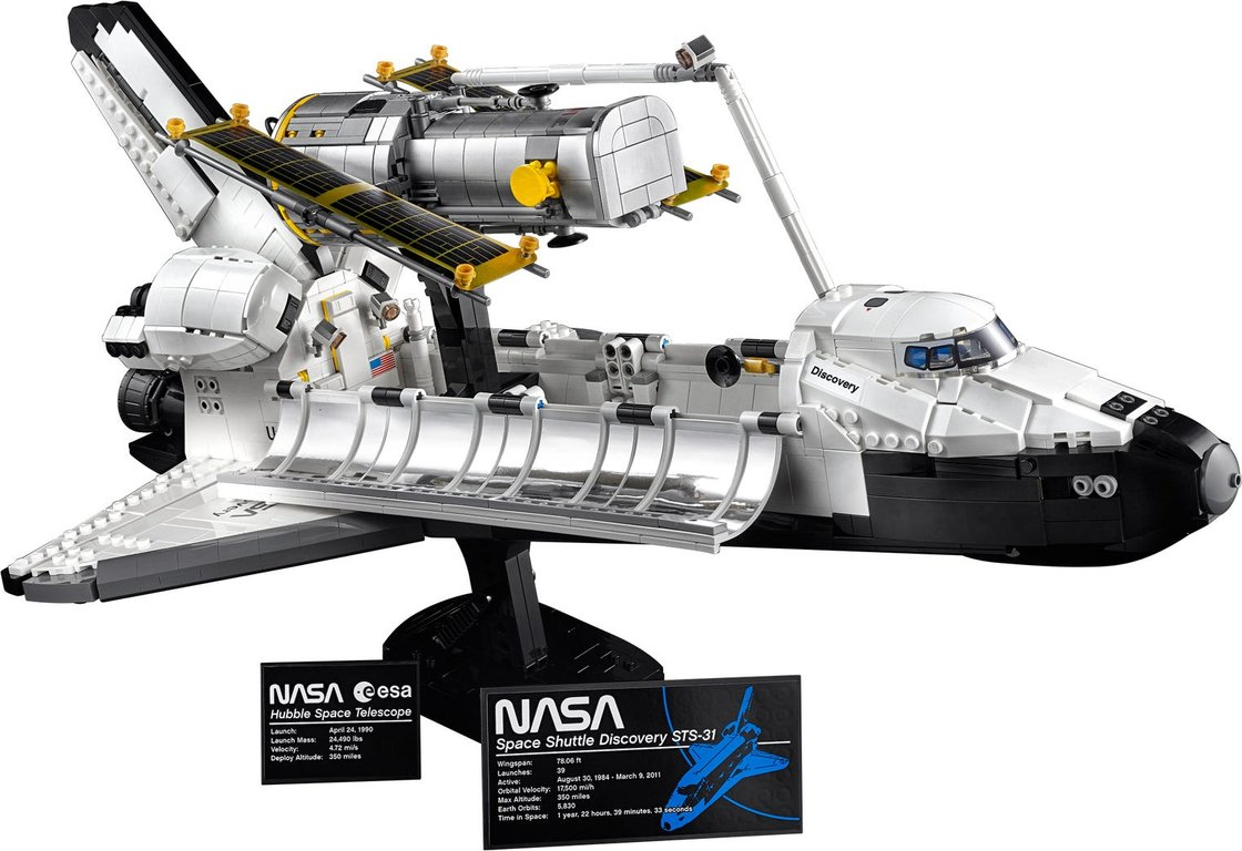 NASA Space Shuttle Discovery components