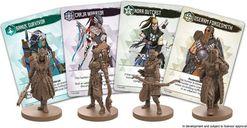 Horizon Zero Dawn: The Board Game miniatures
