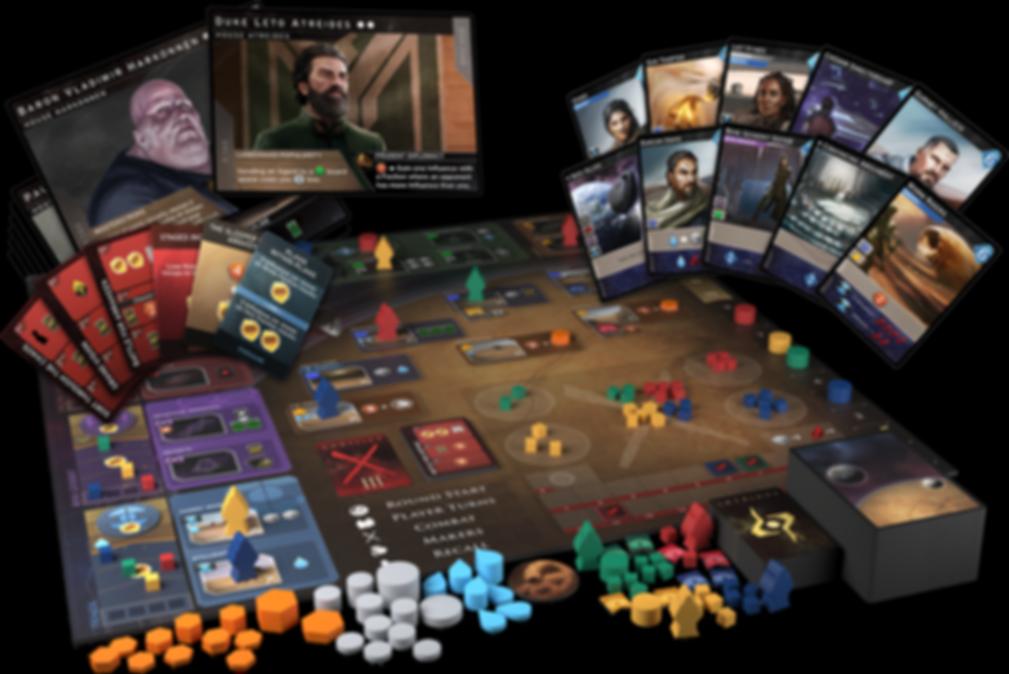 Dune: Imperium components