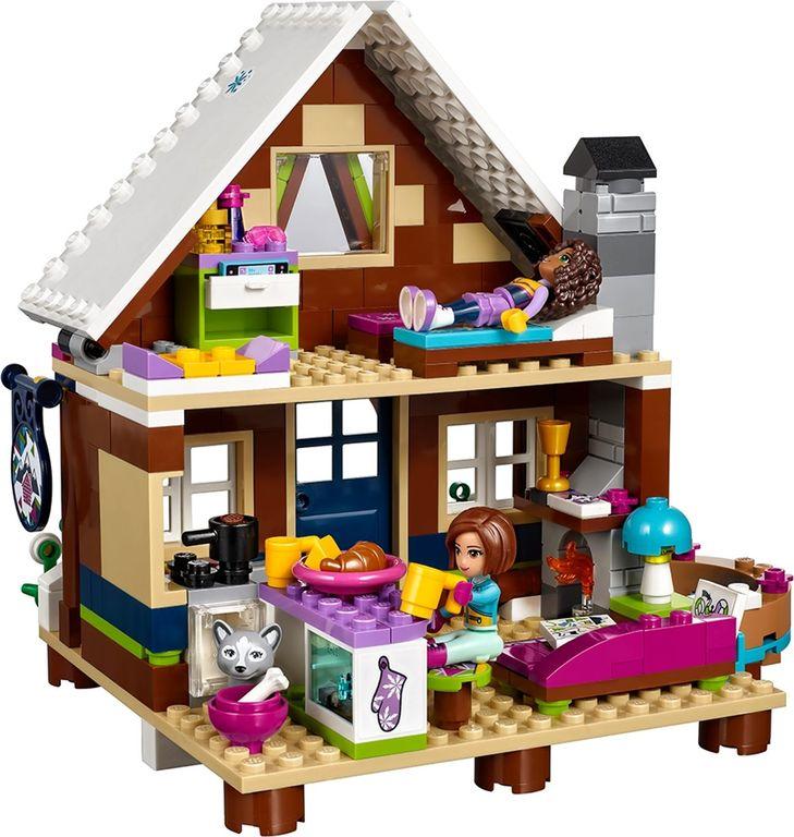LEGO® Friends Snow Resort Chalet interior