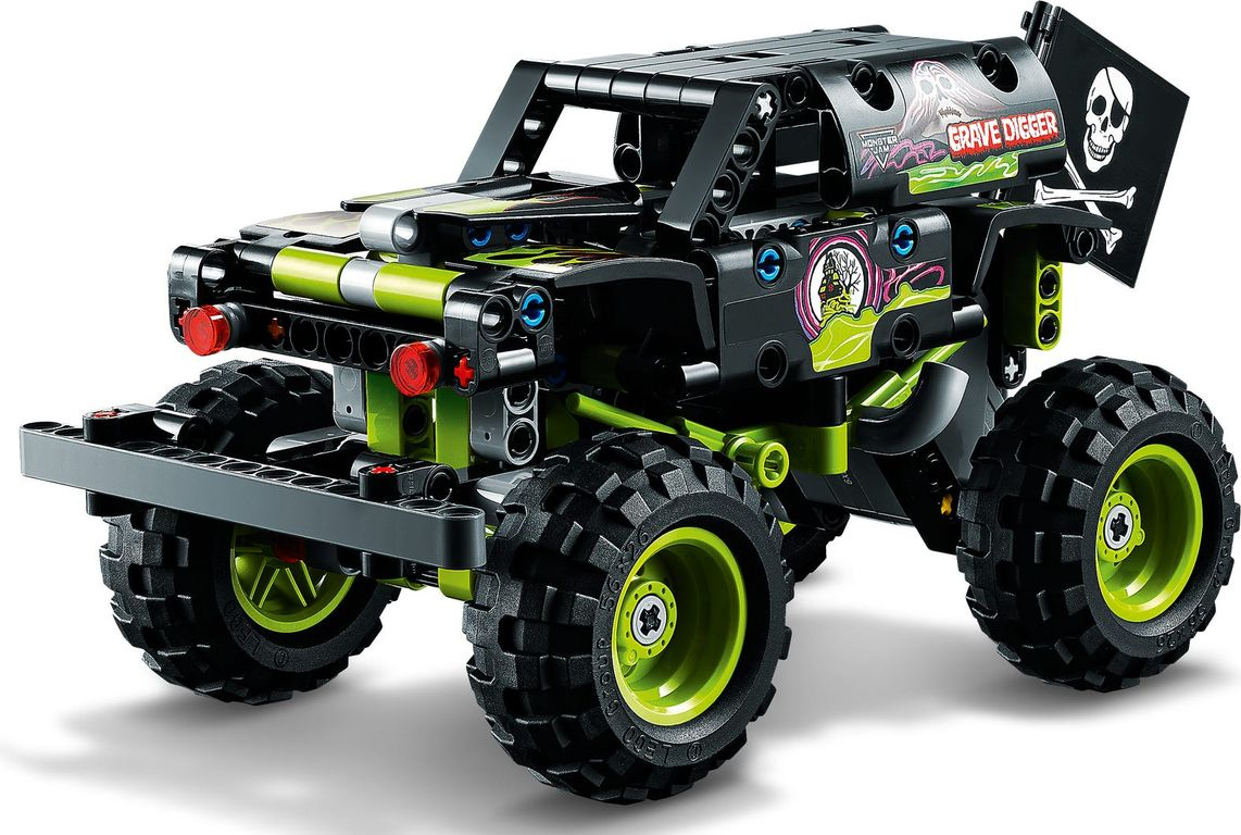 LEGO® Technic Monster Jam®  Grave Digger® components