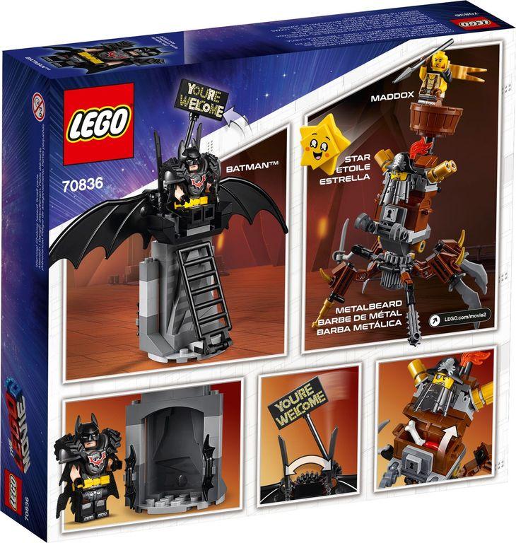 LEGO® Movie Battle-Ready Batman™ and MetalBeard back of the box