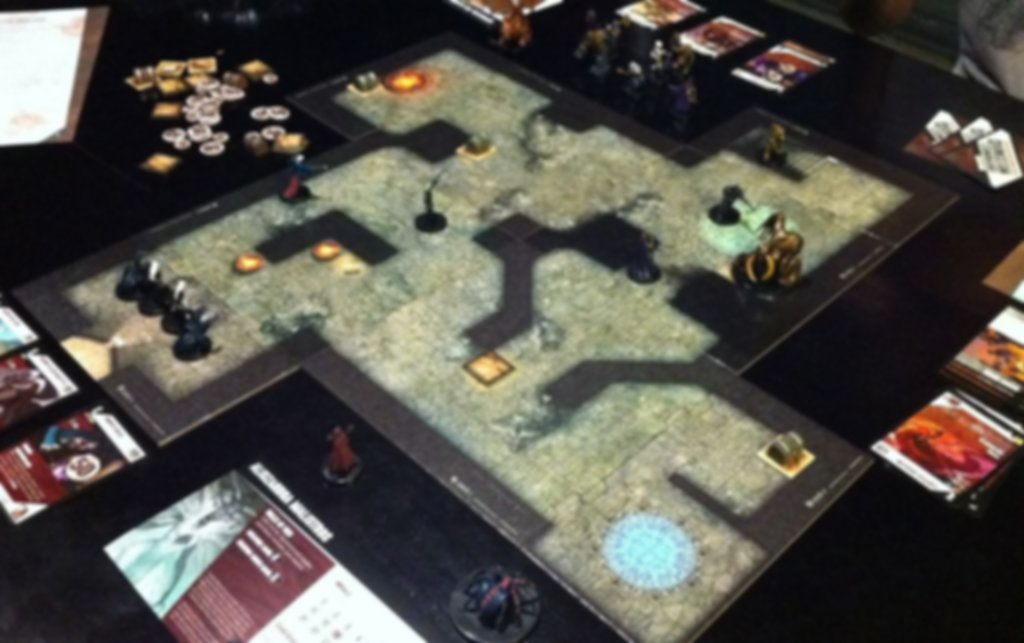Dungeon Command: Sting of Lolth gameplay