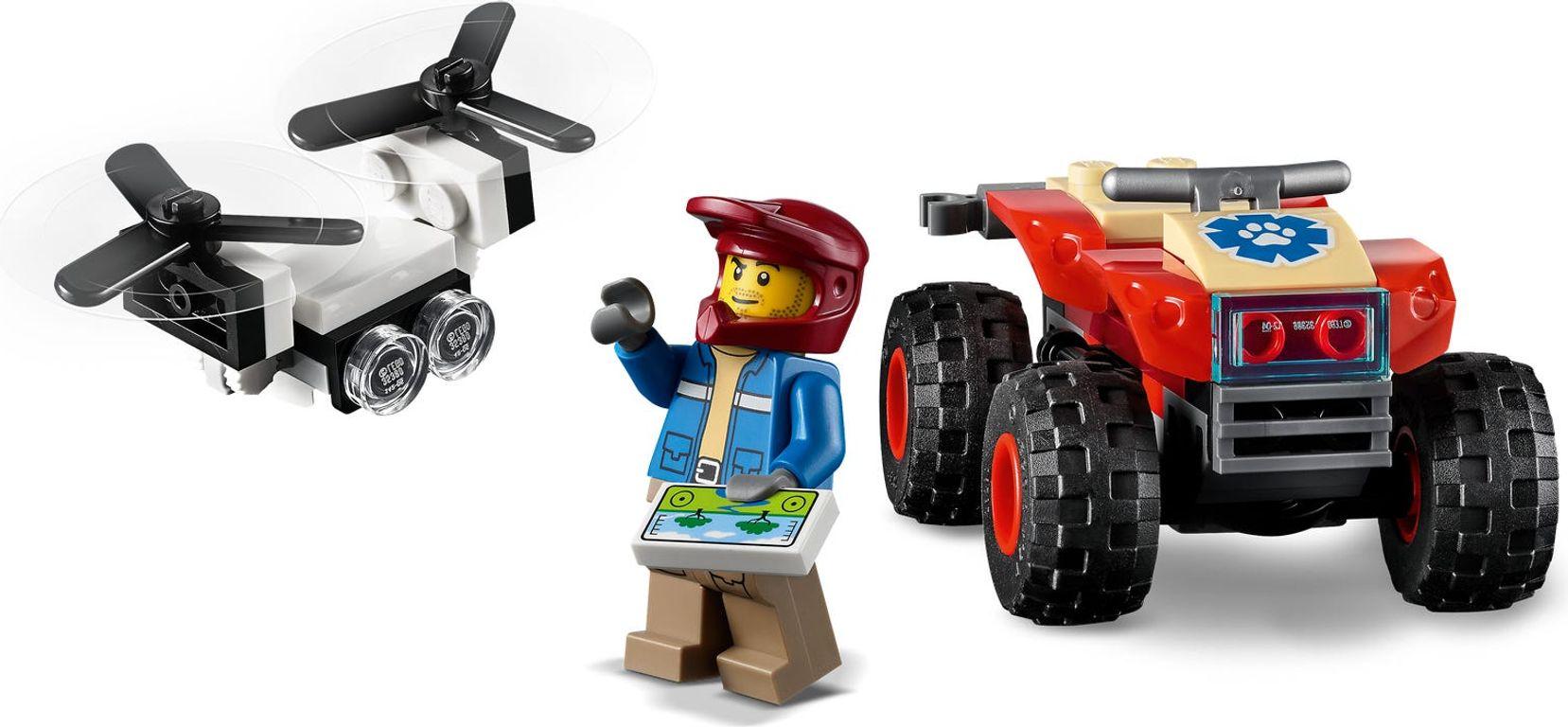 LEGO® City Wildlife Rescue ATV minifigures