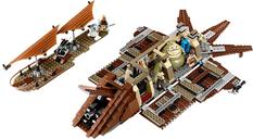 LEGO® Star Wars Jabba's Sail Barge interior
