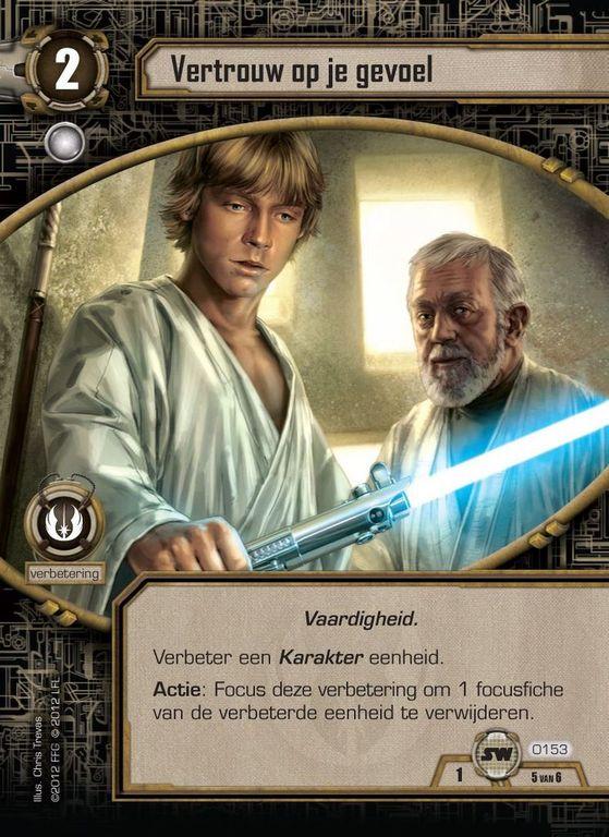 Star Wars: The Card Game card