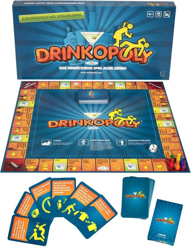 Drinkopoly components