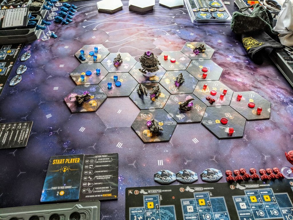 Eclipse: Second Dawn for the Galaxy gameplay