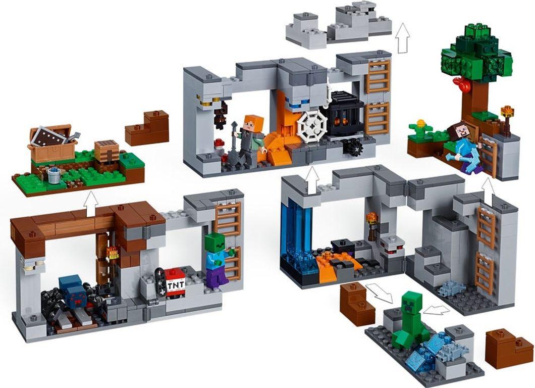 The Bedrock Adventures components