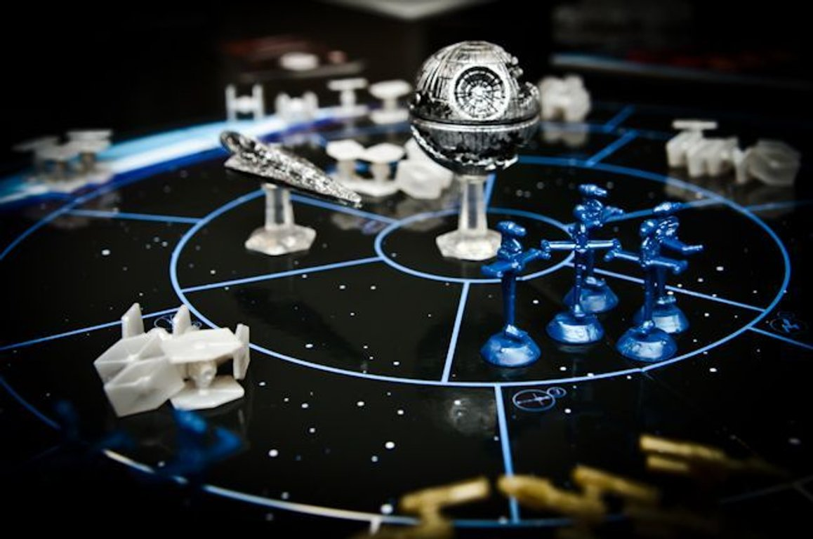 Risk: Star Wars Edition components