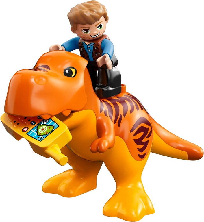 LEGO® DUPLO® T. rex Tower components