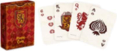 Harry Potter Gryffindor House Playing Cards cards