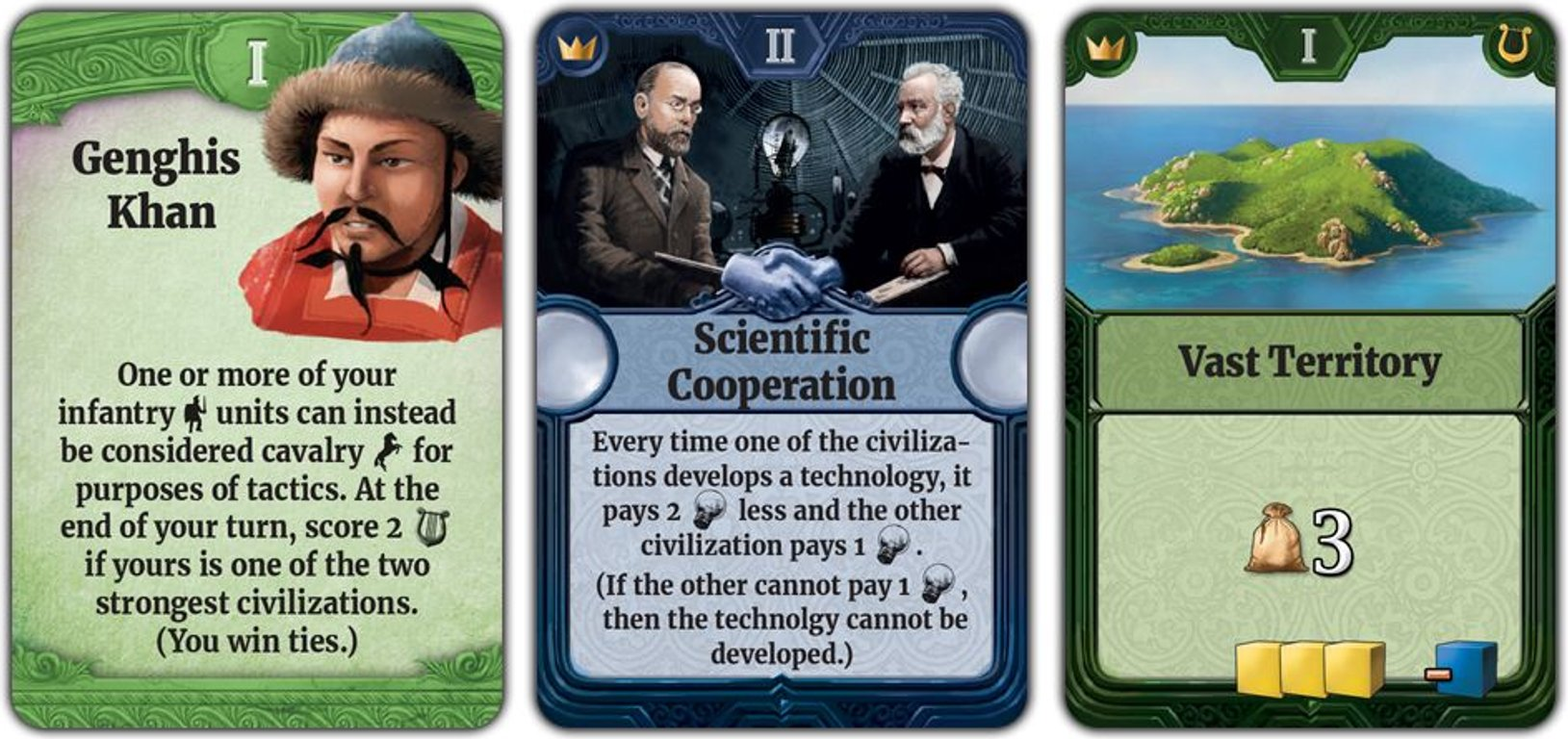 Through the Ages: A New Story of Civilization cards