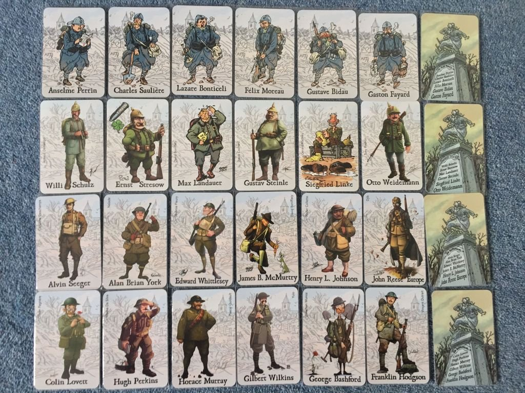 The Grizzled cards