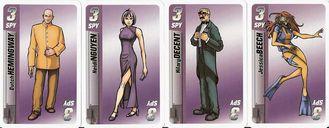 Before I Kill You, Mister Spy... cards